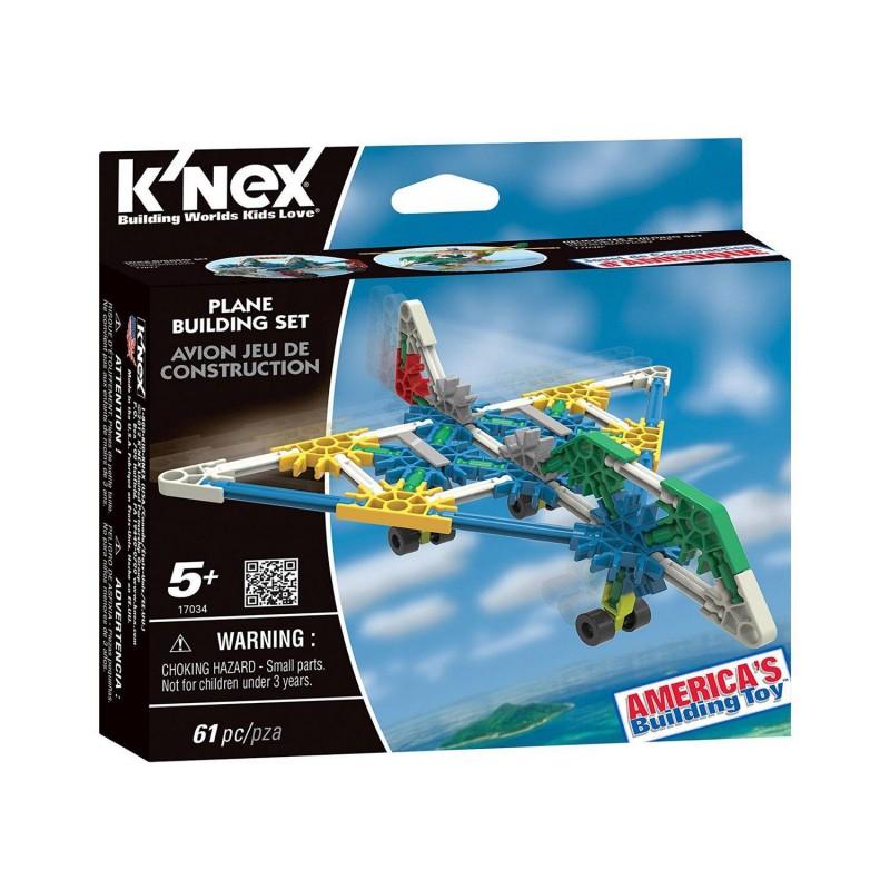 41118 Knex. Kit Avión 67 Piezas
