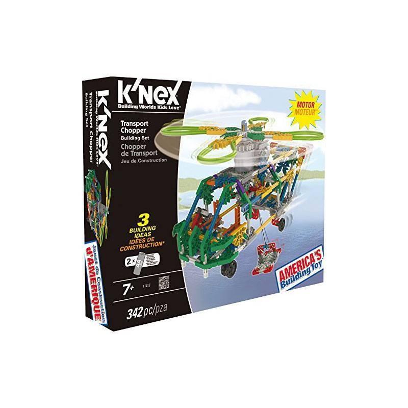 41121 Knex. Helicóptero de Transporte 342 Piezas
