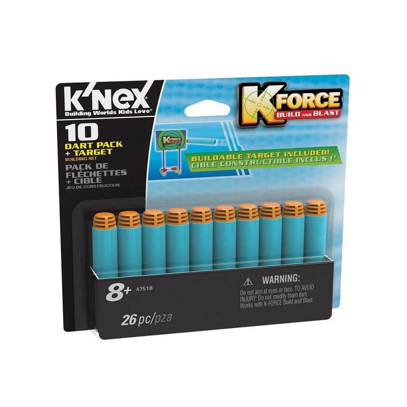 41150 Knex. Pack 10 Dardos + Diana