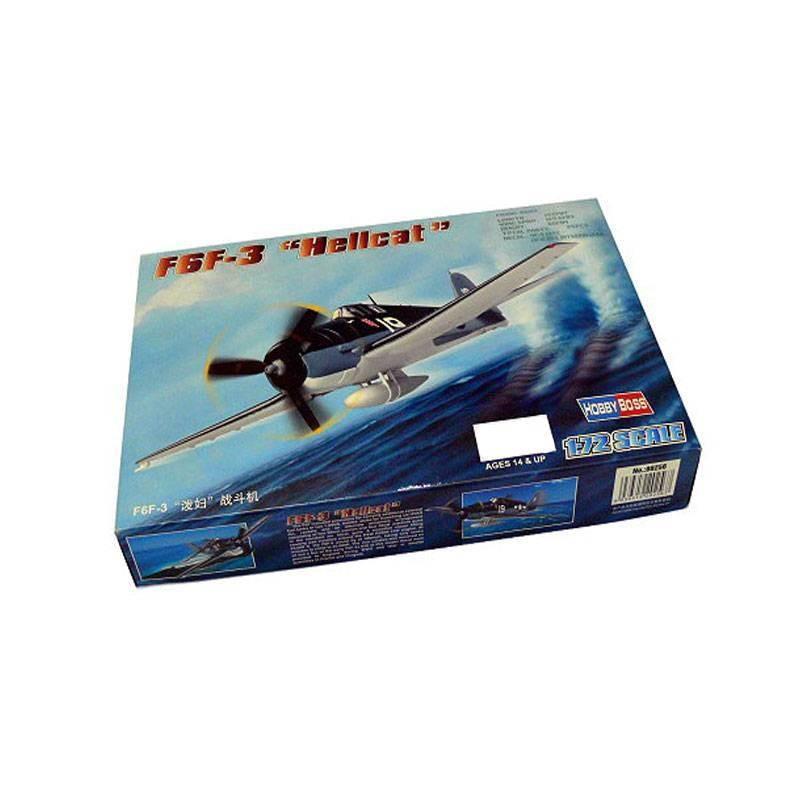 580256 Hobby Boss. 1/72 F6F-3 Hellcat