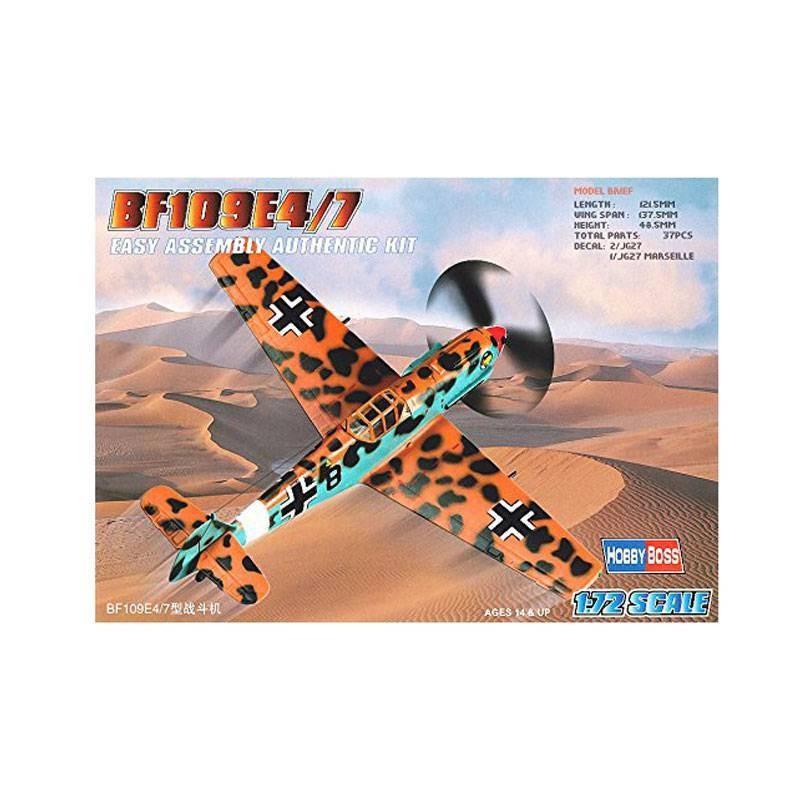 80254 Hobby Boss. 1/72 Bf109E-4/7