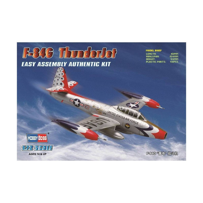80247 Hobby Boss. 1/72 F-84G Thunderjet