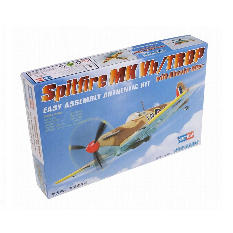 80214 Hobby Boss. 1/72 Spitfire MK Vb/TROP