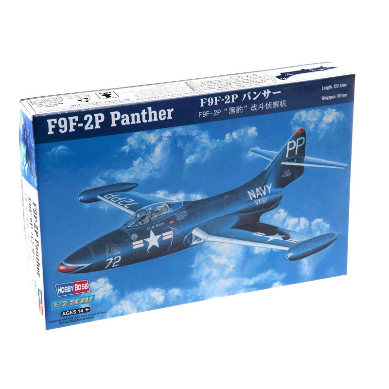 587249 Hobby Boss. 1/72 F9F-2P Panther