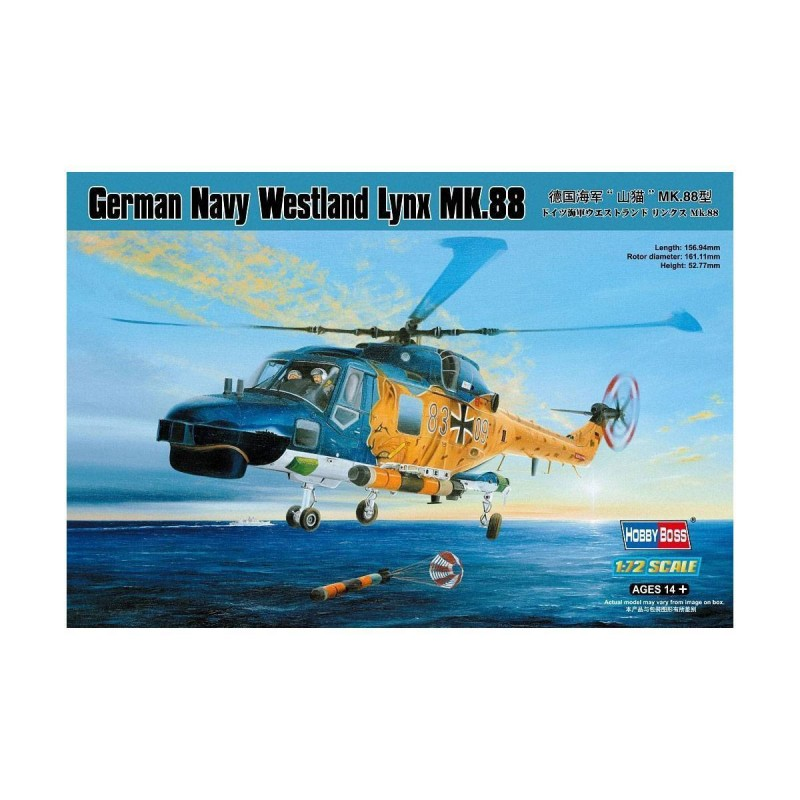 587239 Hobby Boss. 1/72 German Navy Westland Lynx MK.88