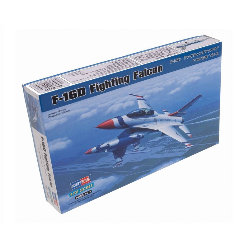 580275 Hobby Boss. 1/72 F-16D Fighting Falcon