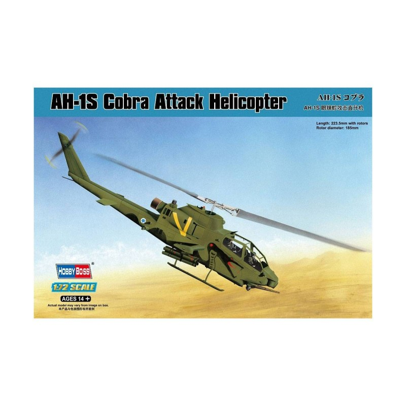 587225 Hobby Boss. 1/72 AH-1S Cobra Attack Helicopter