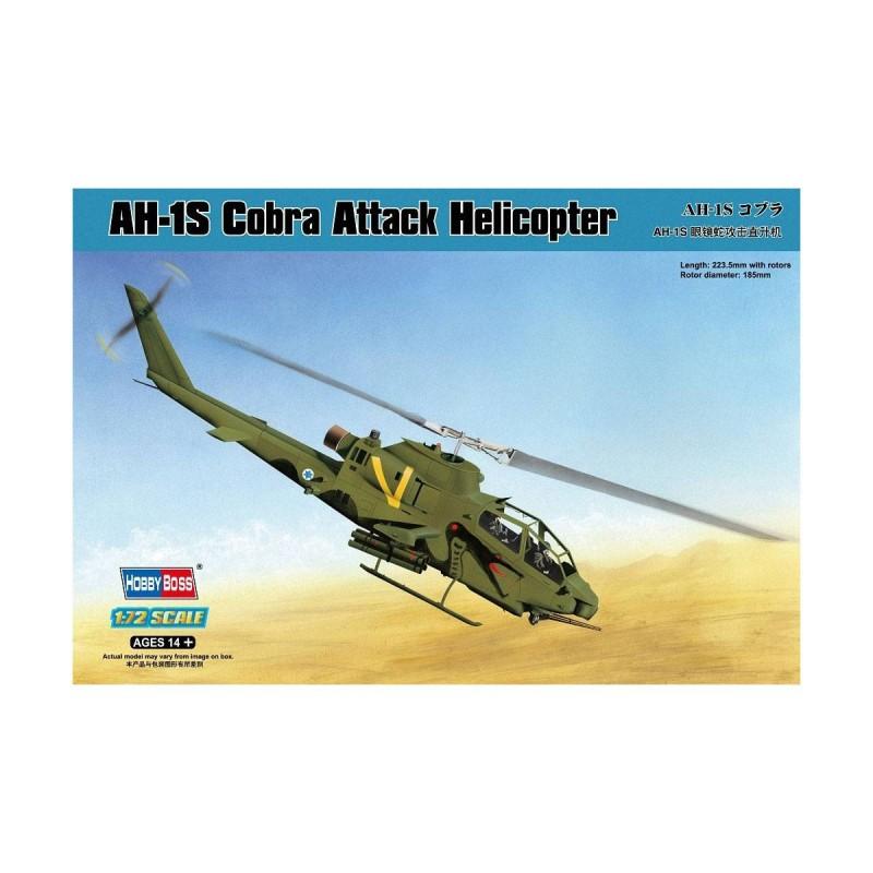 587225 Hobby Boss. 1/72 AH-1S Cobra Attack Helicopter