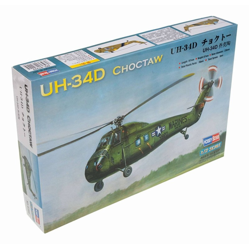 87222 Hobby Boss. 1/72 UH-34D Choctaw