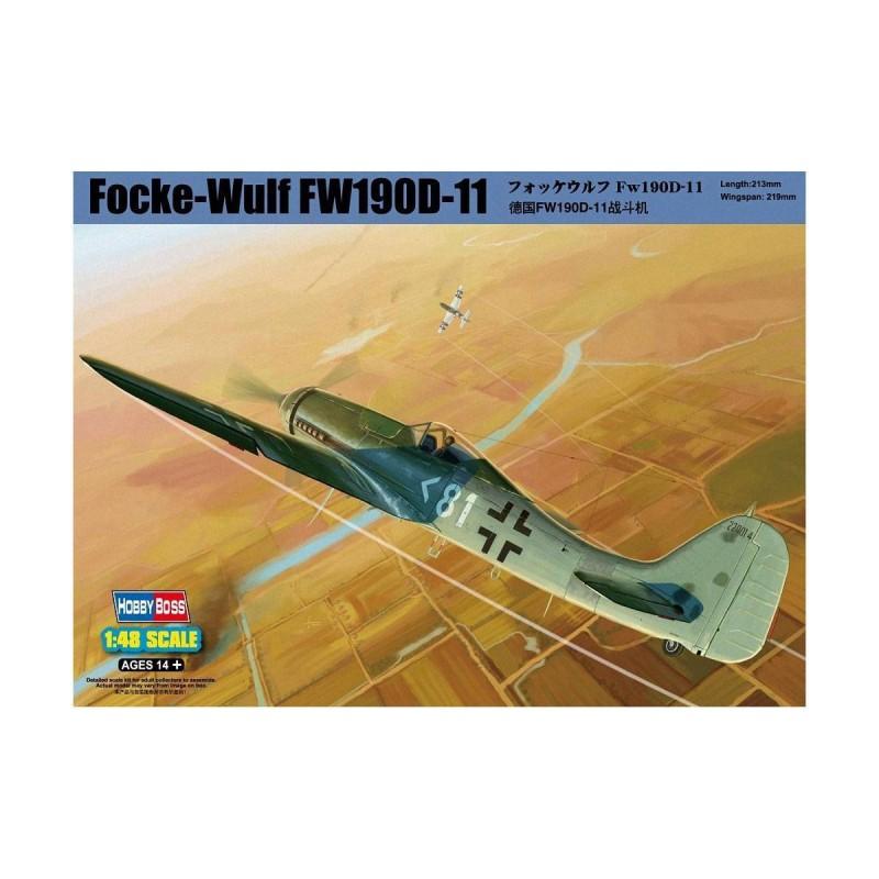 581718 Hobby Boss. 1/48 Focke-Wulf FW 190D-11