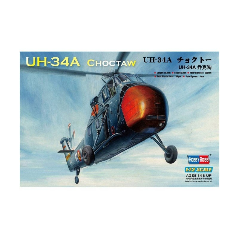 587215 Hobby Boss. 1/72 UH-34A Choctaw