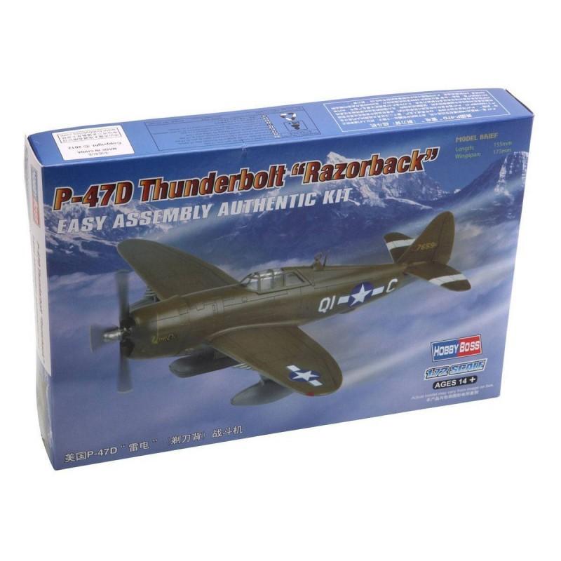 """80283 Hobby Boss. 1/72 P-47D Thunderbolt """"Razorback"""""""