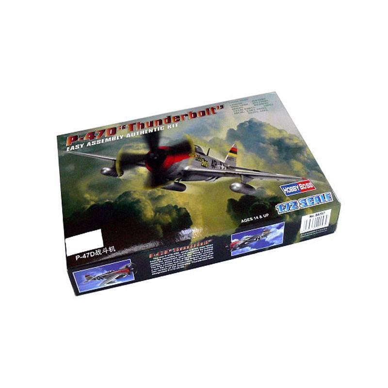"""80257 Hobby Boss. 1/72 P-47D """"Thunderbolt"""""""