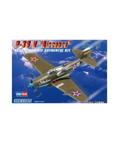 "80234 Hobby Boss. 1/72 American P-39 N ""Aircacobra"""