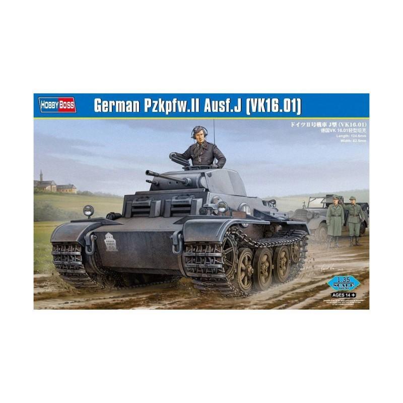 583803 Hobby Boss. 1/35 German Pzkpfw.II Ausf.J (VK16.01)