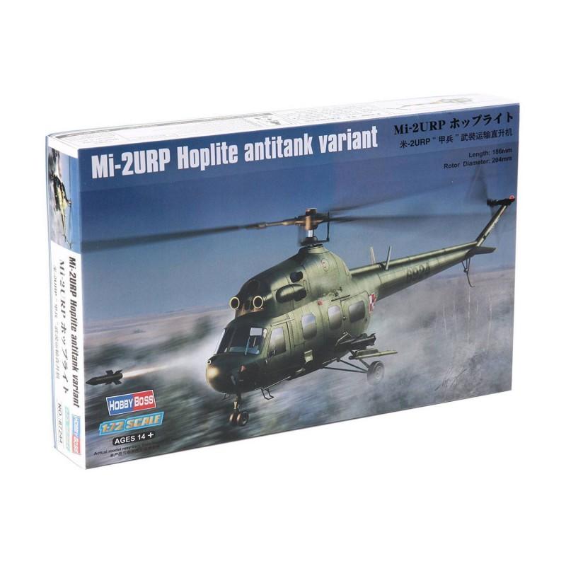587244 Hobby Boss. 1/72 Mi-2URP Hoplite antitank variant