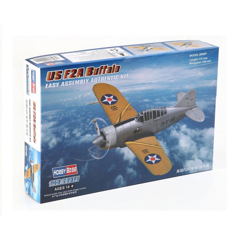 580290 Hobby Boss. 1/72 US F2A Buffalo
