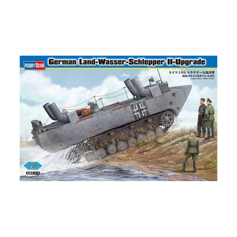 582462 Hobby Boss. 1/35 German Land-Wasser-Schlepper II-Upgraded