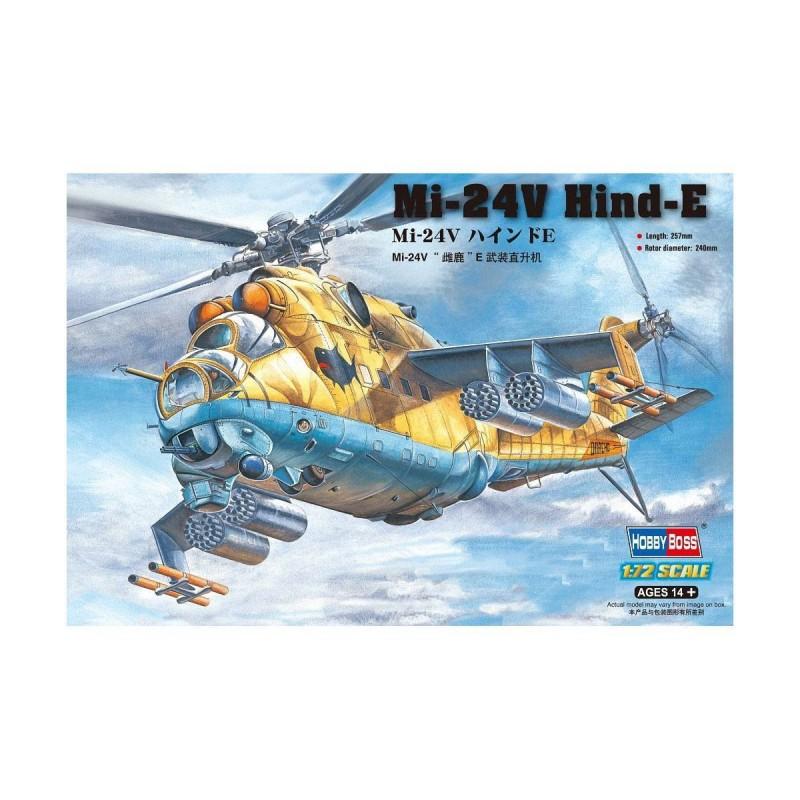 87220 Hobby Boss. 1/72 Mi-24V Hind-E