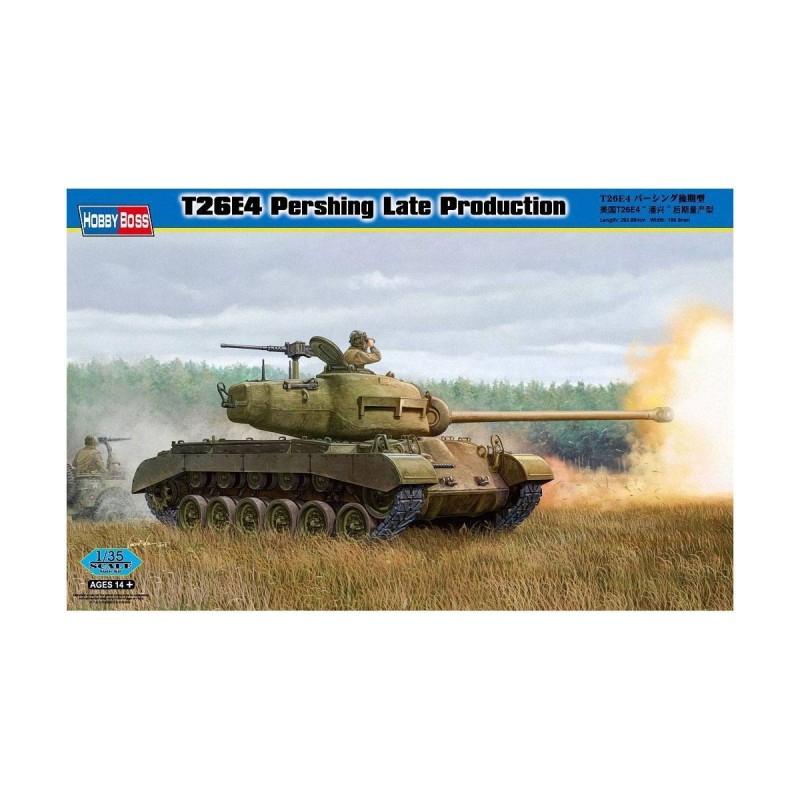 82428 Hobby Boss. 1/35 T26E4 Pershing Late Production