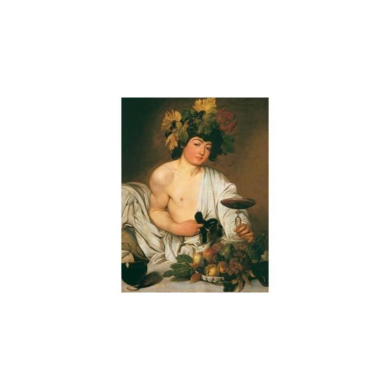 39052. Puzzle Clementoni 1000 piezas Caravaggio, Bacco
