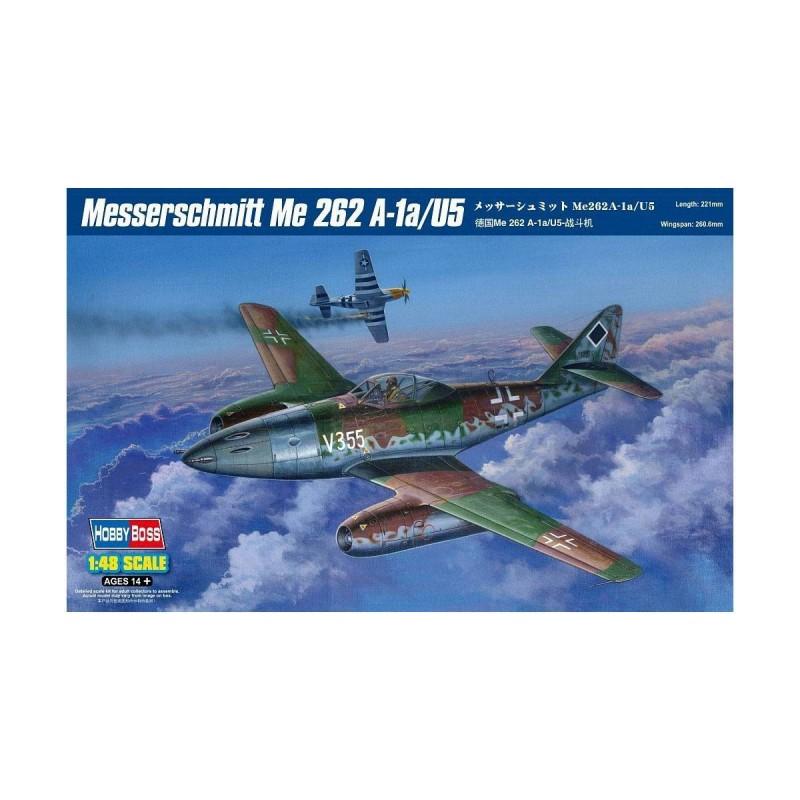80373 Hobby Boss. 1/48 Messerschmitt Me 262 A-1a/U5