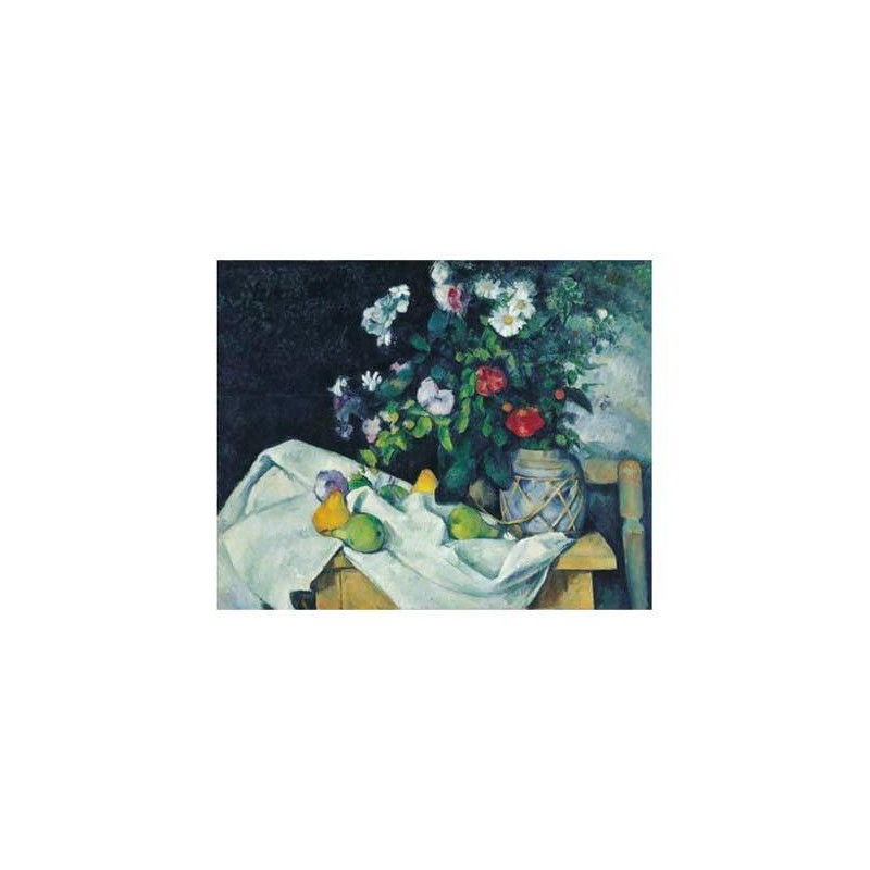 31436. Puzzle Clementoni 1000 piezas Naturaleza muerta, Cézanne