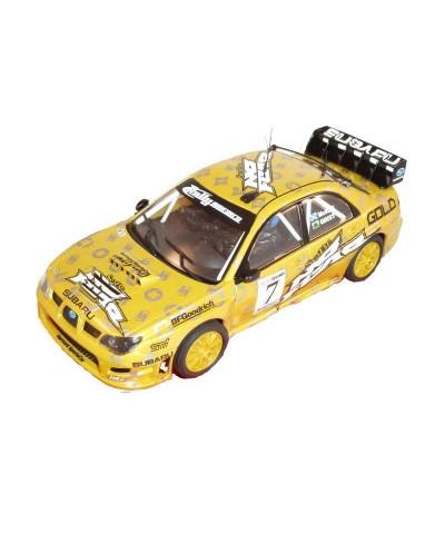 "A10050 Scalextric. Coche Slot Subaru Impreza WRC No Fear ""Mcrae"""