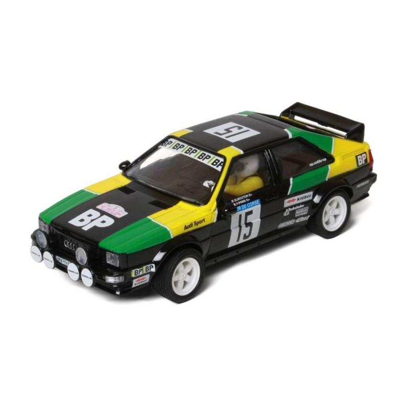 """A10148 Scalextric. Coche Slot Audi Quattro """"Vintage"""" Ed.Limitada"""