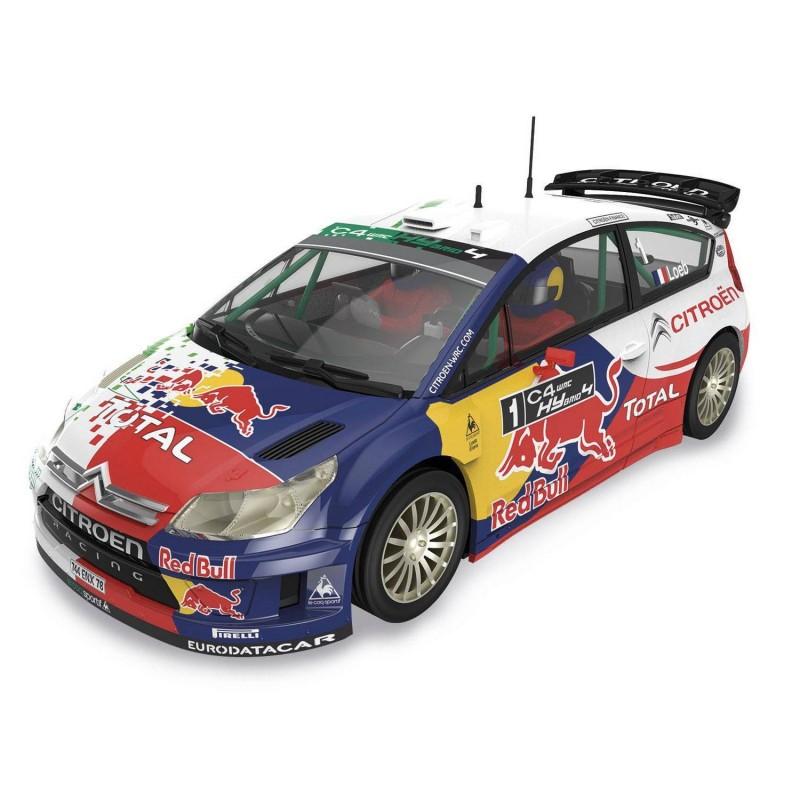A10156 Scalextric. Coche Slot Citroën C4 WRC