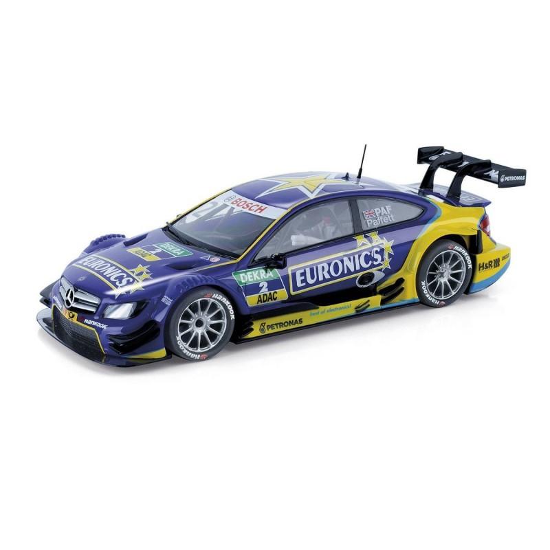 A10214 Scalextric. Coche Slot Mercedes AMG C-Coupé DTM Euronics