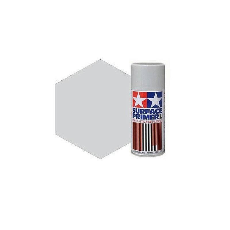 87042 Tamiya. Spray Imprimación Tamiya Gris Grano Extrafino