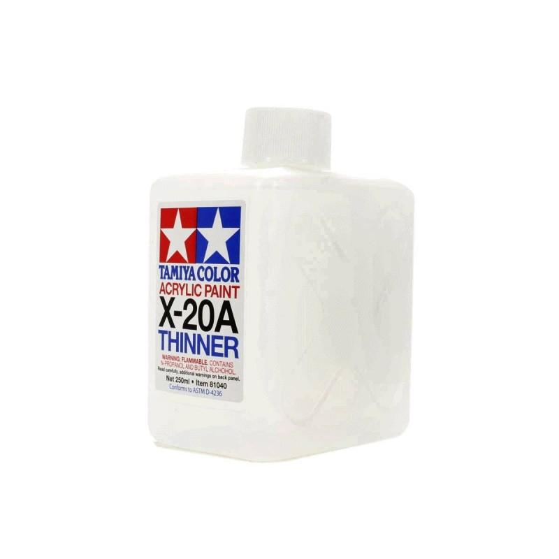 81040 Tamiya. Disolvente acrílico Tamiya X-20A 250 ml