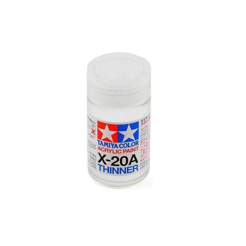 81030 Tamiya. Disolvente acrílico Tamiya X-20A 46 ml