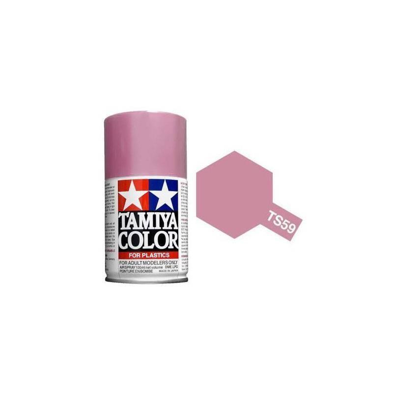 85059 Tamiya. Spray TS-59 Pintura esmalte Rojo claro Nacarado