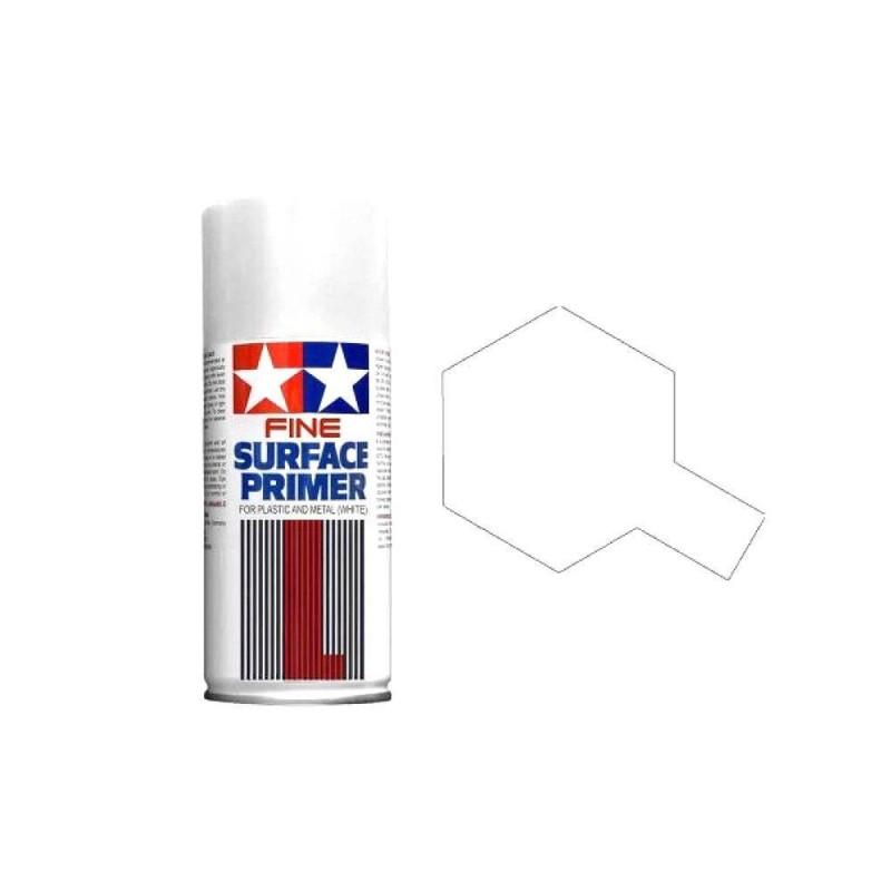 87044 Tamiya. Spray Imprimación Tamiya Blanco Grano Extrafino