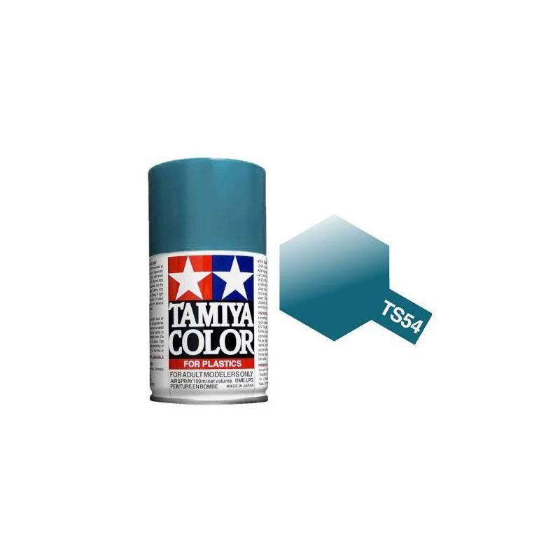 85054 Tamiya. Spray TS-54 Pintura esmalte Azul Metalizado