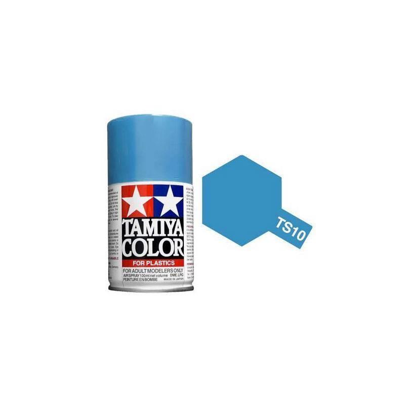 85010 Tamiya. Spray TS-10 Pintura esmalte Azul Francia