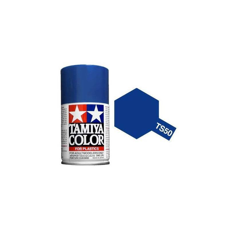 85050 Tamiya. Spray TS-50 Pintura esmalte Azul Mica