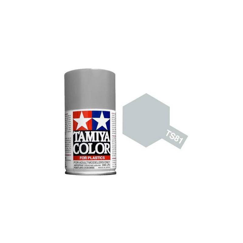 85081 Tamiya. Spray TS-81 Pintura esmalte Gris (Royal Navy)