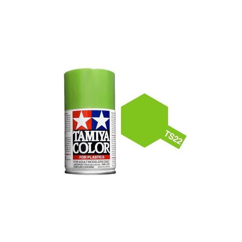 85022 Tamiya. Spray TS-22 Pintura esmalte Verde Claro
