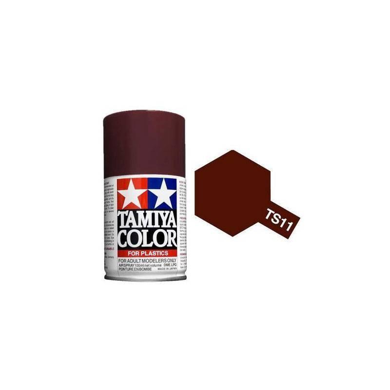 85011 Tamiya. Spray TS-11 Pintura esmalte Marrón
