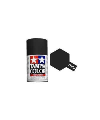 Tamiya 85063. Spray TS-63 Pintura esmalte Negro Nato