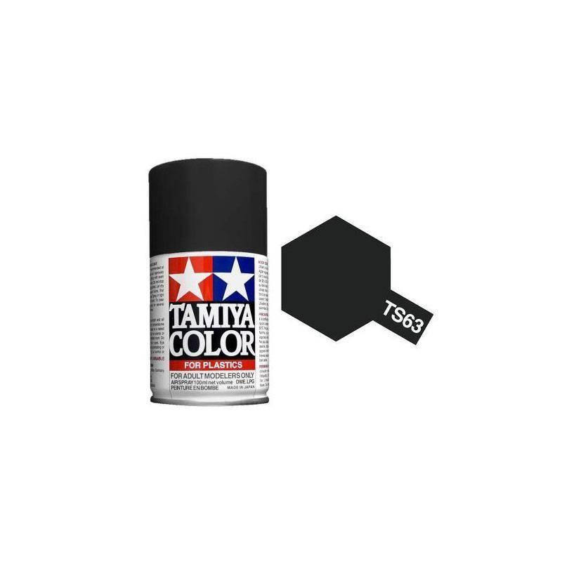 85063 Tamiya. Spray TS-63 Pintura esmalte Negro Nato