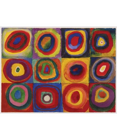 163779.Puzzle Ravensburger 1500piezas Kandinsky,Estudio de Color