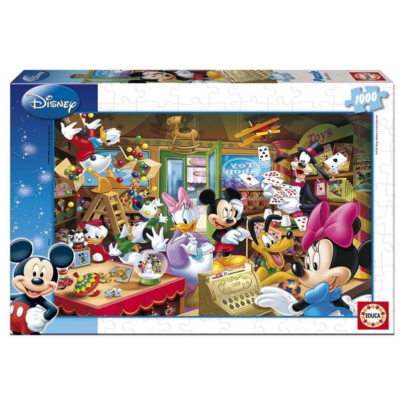 15191 Educa. Puzzle 1000 Piezas La Tienda de Juguetes de Mickey