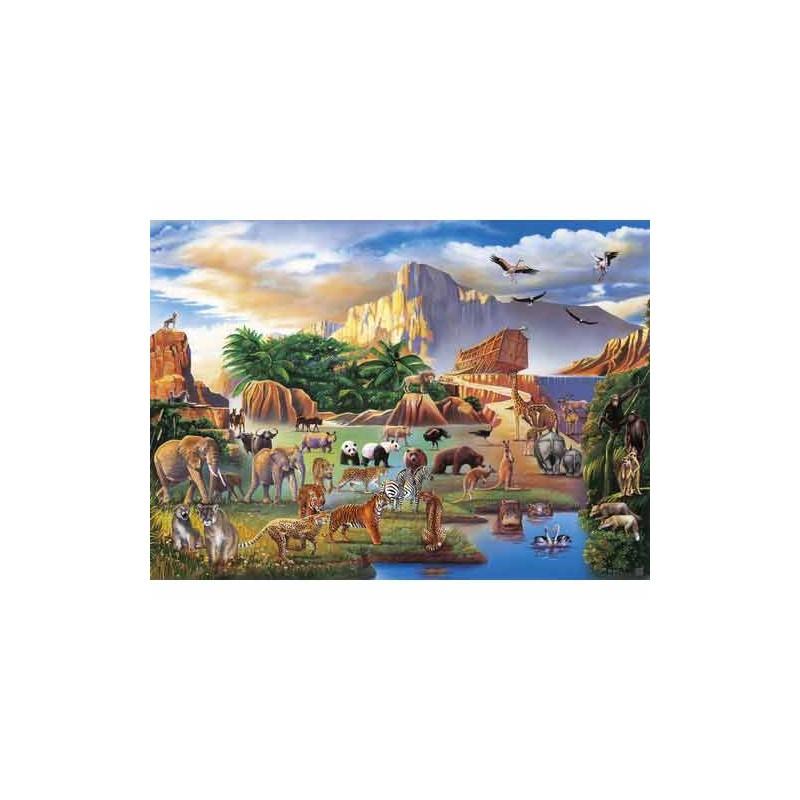 31952. Puzzle Clementoni 1500 piezas Arca de Noe