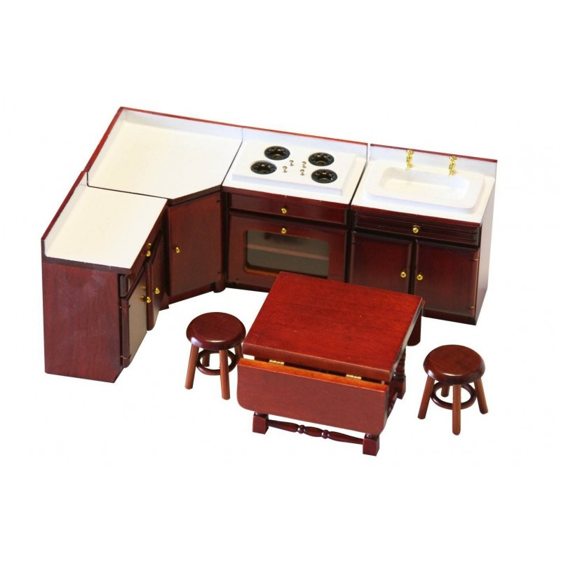 SP1054. Ambiente Cocina Rinconera casa de muñecas