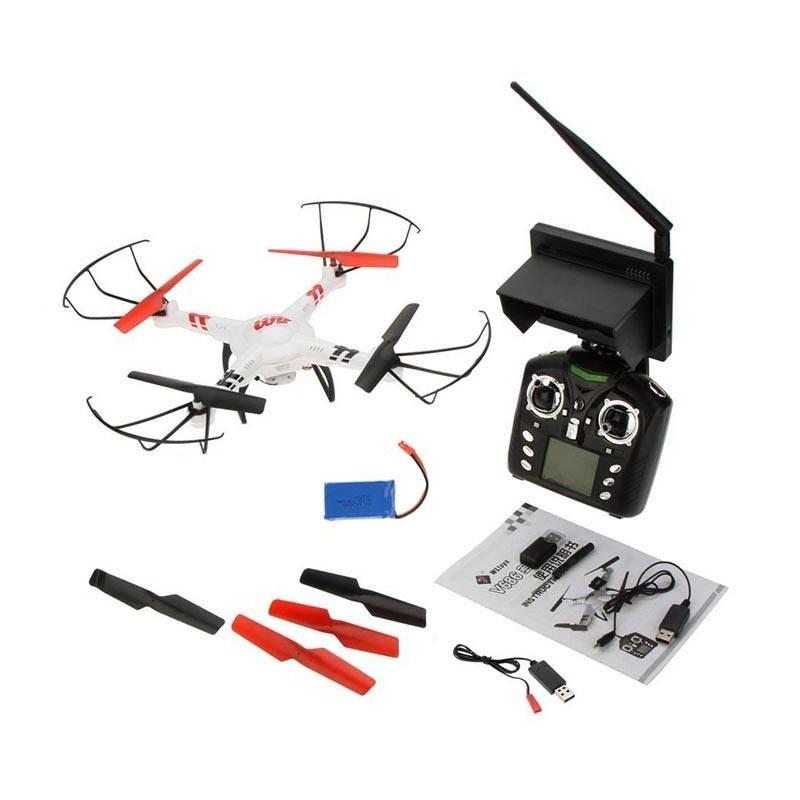 Drone WL Toys V686G FPV. 2,4 Ghz., 2 baterias. Vision remota