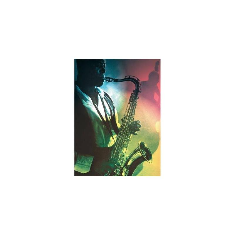 141234. Puzzle Ravensburger 500 piezas Sesión de Jazz